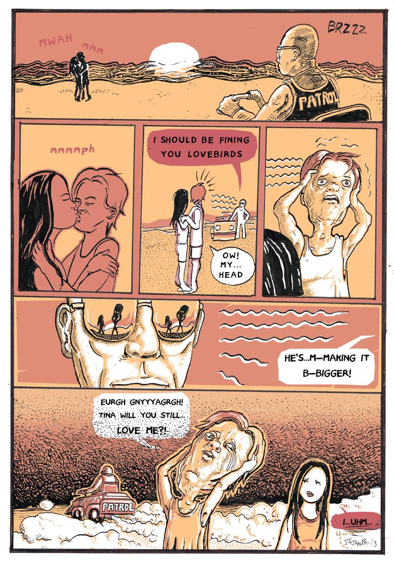Petty Beach, page 1