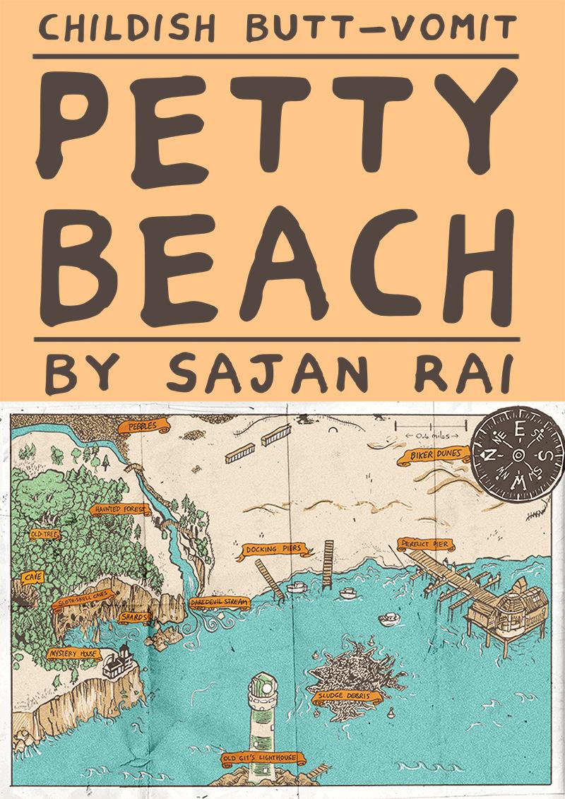 Petty Beach, Map