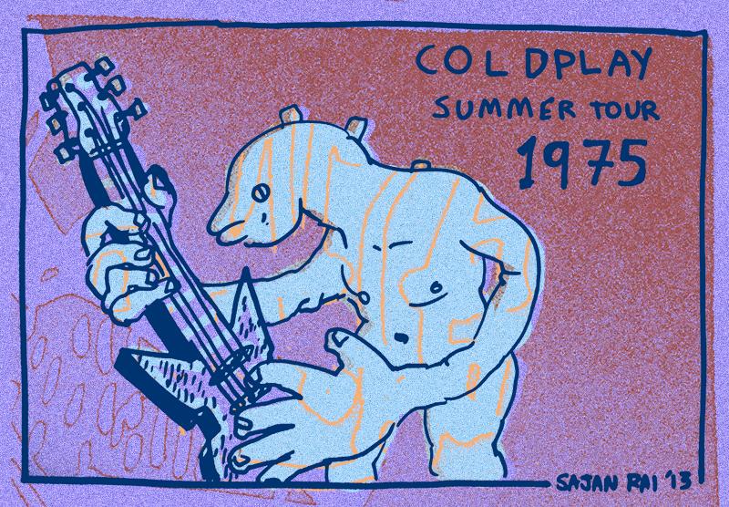 Original Vintage Gig Poster