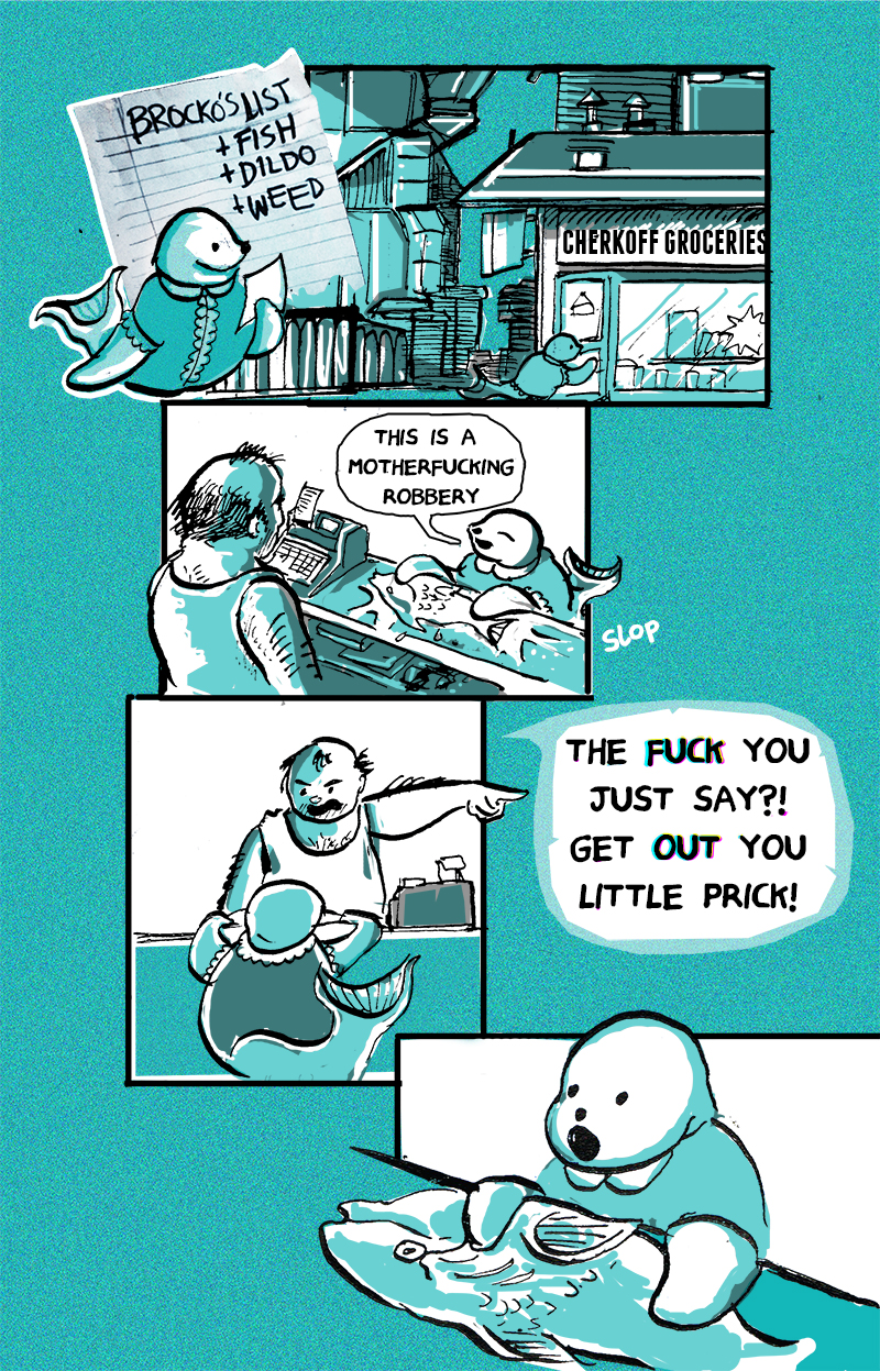Brocko 'n Frens, page 3