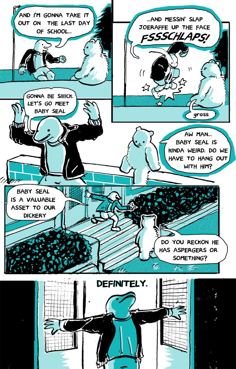 Brocko 'n Frens, page 2